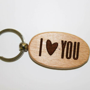 Oval Key Ring