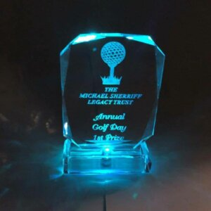 LED Crystal Award LB-01