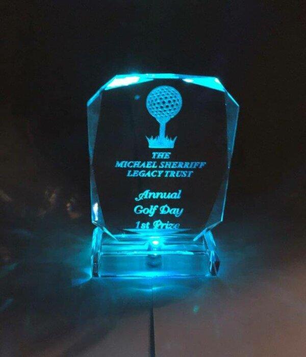 LED Crystal Award