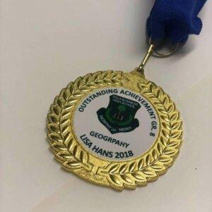Large Laurel Medal